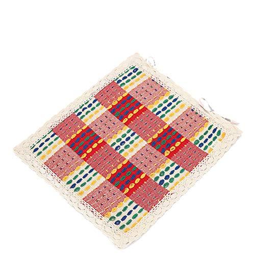 Bonamaison Fundas para Cojínes, Polyester, Multicolor, 43x43 Cm