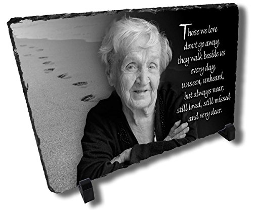 Redeye Laserworks Personalized Loved One Memorial Stone Plaque from
