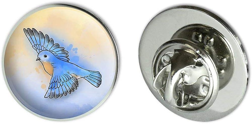 GRAPHICS & MORE Eastern Bluebird Watercolor Northeastern Bird Metal 0.75