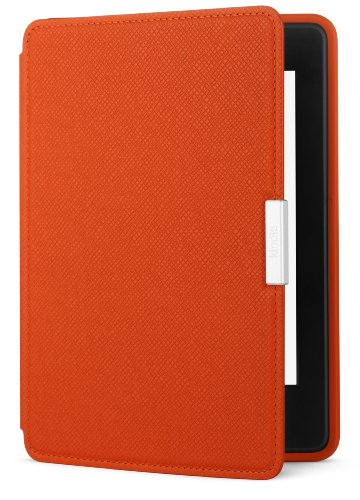 Amazon Kindle Paperwhite Leather Case, Persimmon - fits all Paperwhite generations prior to 2018 (Will not fit All-new Paperwhite 10th generation)