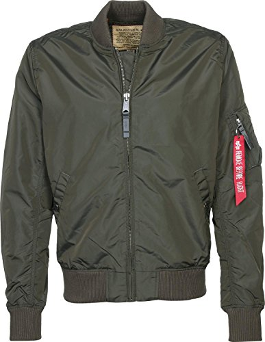 ALPHA INDUSTRIES Ma- 1 TT Blouson, Gris (Rep.Grey 04), (Taille Fabricant: Medium) Homme