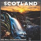 Scotland Wall Calendar 2021: Official Scotland Calendar 2021