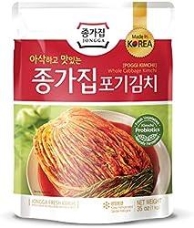 Daesang Jonnga Whole Cabbage Kimchi (Poggi Kimchi), 1kg - Chilled