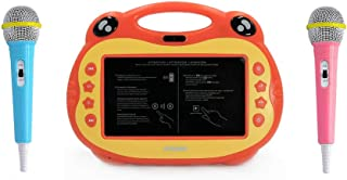 ATOUCH P06 Karaoke Video Learning Tablet With Mic,16GB, 7 Inch 4G (Orange)