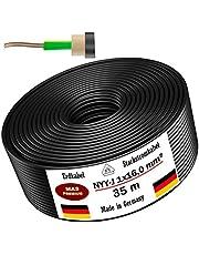 MAS-Premium® aardkabel - Duitse merkkwaliteit - hoogwaardige elektrische kabelring voor het leggen buiten en grond - standaard stroomkabel/stroomkabel - Made in Germany