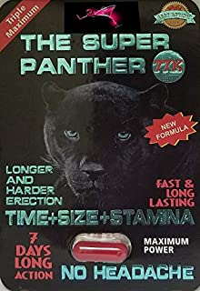 Redlips #1 The Super Panther 77K And White Panther (Super Combo)Strong Man Stamina Enhancement 20Pills Pills Plus Love Potion Pen