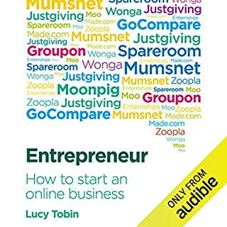 Entrepreneur, How to Start an Online Business audiobook cover art