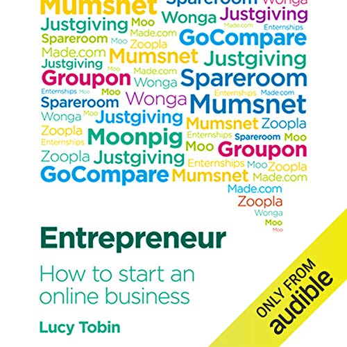 Entrepreneur, How to Start an Online Business Audiobook By Lucy Tobin cover art