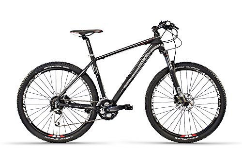 Lombardo bikes - Mountain Bike Sestriere 600 U / 27.5 NERO/BIANCO OPACO 20.5' - 2016