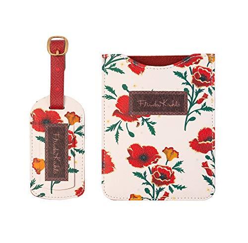 ERIK - Set de viaje para pasaporte Frida Kahlo