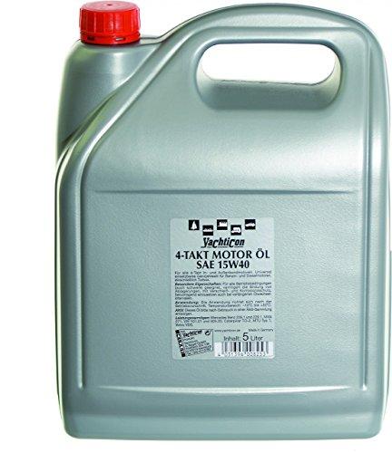 YACHTICON 4-Takt Motoröl SAE 15W40 5 Liter