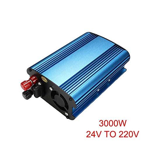 wokee 3000W/4000W Coche Energía Solar Inversor DC 12 / 24Va AC 220V Modificado Onda...