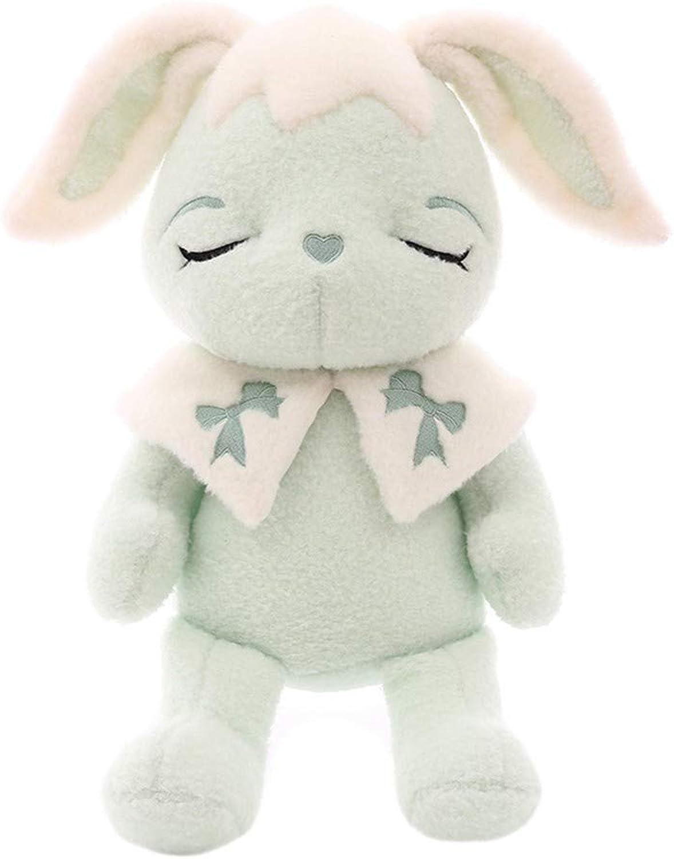 LAIBAERDAN Hase Puppe Halbmond Kaninchen Plüschtier Weiche Haut Kissen Puppe Mädchen Geschenk 35-50-60Cm, 50Cm B07NSXH617  Gutes Design   Zart