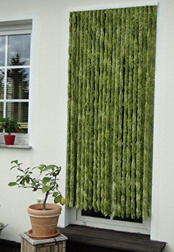 Leguana - Cortina para puerta mosquitera 90x200 ( ancho x alto ) unigrün