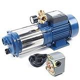 Pompa da giardino 1800 W, pompa centrifuga 9000 l/h, 2850 giri/min.