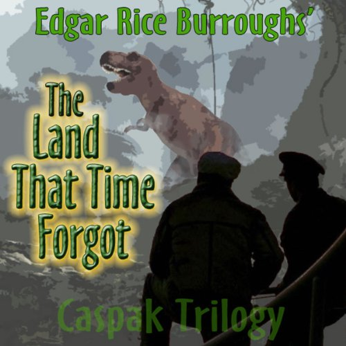 The Land That Time Forgot audiobook cover art
