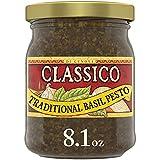 One 8.1 oz. jar of Classico Signature Recipes Traditional Basil Pesto Sauce & Spread Classico Signature Recipes Traditional Basil Pesto Sauce & Spread delivers authentic Italian flavors in a versatile ready to use sauce and spread Our pesto sauce and...