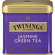 Twinings of London Loose Jasmine Green Tea, 3.53 Ounce Tin