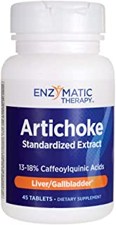 Enzymatic Therapy Artichoke Extract, Liver Gall Bladder Tablets - 45 ct