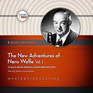 The New Adventures of Nero Wolfe, Volume 1 cover art