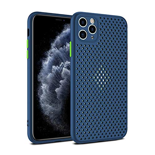 Heat Dissipation Breathable Cooling Case for iPhone 11 11Pro Max XR XS Max X 8 7 6S Plus SE 2020 11Pro Soft TPU Plain Color Case-T2-For 7 Plus or 8 Plus