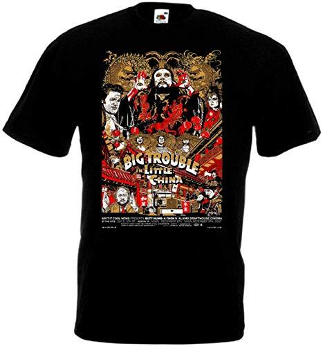 Big Trouble In Little China v21 T-Shirt Movie John Carpenter for Men Women