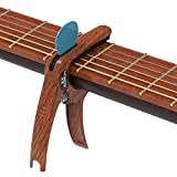 Xyagnus 3in1 Guitar Capo for Acoustic,Electric and Classical Guitars,Ukulele Capo(with Pick Holder),Guitar Accessories