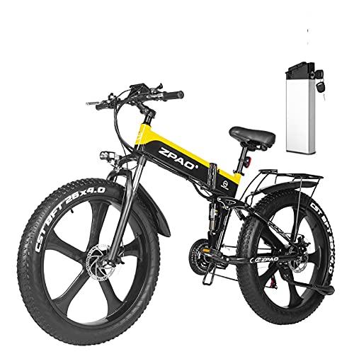Bicicletas Eléctricas Plegables Adultos 1000W Marca Luomei