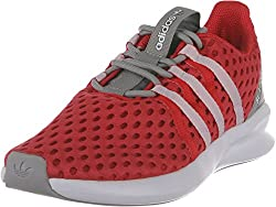 Adidas Sl Loop Racer W Originals Running Shoe (11, tomato / white / gray)