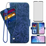 Asuwish Compatible with Samsung Galaxy S10 Plus Wallet Case