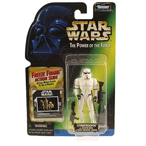 Kenner Star Wars: El Poder de la Fuerza de congelado de Marco Stormtrooper Figura de acción