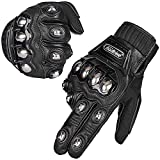 ILM Alloy Steel Motorcycle Riding Gloves Warm Waterproof Windproof for Winter Use (XL,...