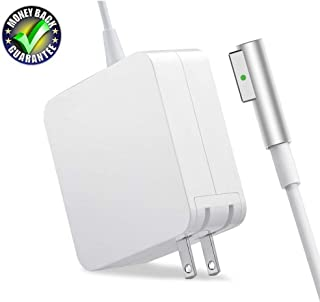 Mac Book Pro Charger,Replacement for MacBook Pro Charger with 13 Inch Display Before 2012 Ac 60W Magsafe 1 L-tip Power Adapter