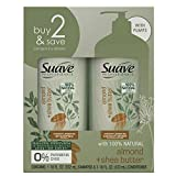 Suave Professionals Moisturizing Shampoo and Conditioner Almond and Shea Butter 18 oz, 2 count