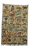 Kotsa | Alfombra de seda | Alfombra Cachemira | Alfombra de seda hecha a mano | Alfombra geométrica | Alfombra para dormitorio | Alfombra de piso | Alfombra de azulejos | KC07