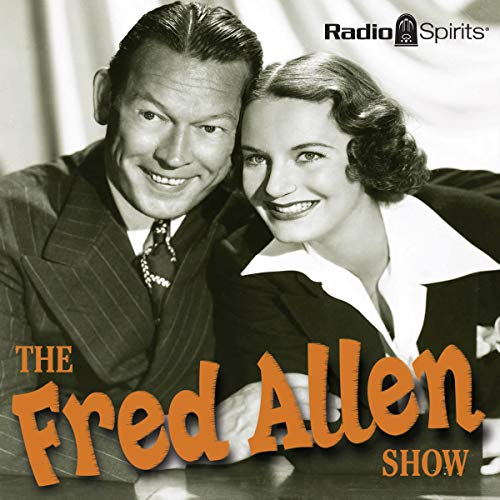 The Fred Allen Show                   By:                                                                                                                                 Original Radio Broadcast                               Narrated by:                                                                                                                                 Fred Allen,                                                                                        Portland Hoffa,                                                                                        Alan Reed,                   and others                 Length: 9 hrs and 45 mins     Not rated yet     Overall 0.0