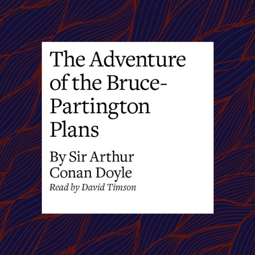 The Adventure of the Bruce-Partington Plans audiobook cover art