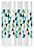 Gelco Design KIO Duschvorhang, 180x 200, Polyester, Multi, 180x 200x 0,32cm