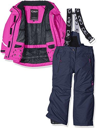 CMP 3W05265 Set da sci per ragazza (giacca e pantalone), Rosa, 176, Rosa, 176
