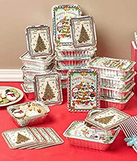 24 Holiday Goodie Containers Holiday Christmas Décor