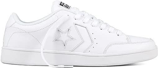 Converse Unisex Star Court, White/White/White, 5 D(M) US