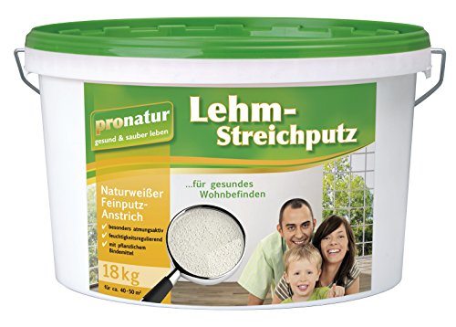 pronatur Lehm-Streichputz 18 kg