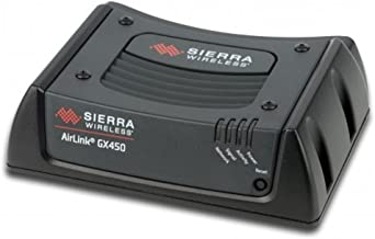 AirLink Sierra Wireless GX450 1102361 Rugged, Secure Mobile 4G LTE, GPS, Multi Ethernet Gateway Modem - Verizon - AC Power & DC Cable (No Antennas Included)