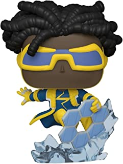 Funko DC Comics Justice League Pop! Heroes Static Shock Vinyl Figure Hot Topic Exclusive