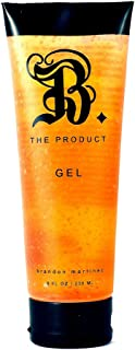Salon Professional Hair Gel, Maximum Hold Hair Gel For Volume And Shine, Alcohol-Free B. The Product Gel 8.5 oz.