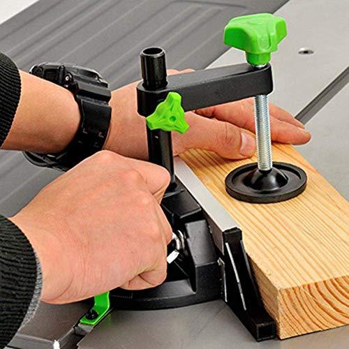 miter gauge, precision table saw miter gauge aluminum alloy miter gauge for table saw with miter gauge fence miter gauge 5/8 slot, fixture locking Woodworking Jigs craftsman table saw miter gauge