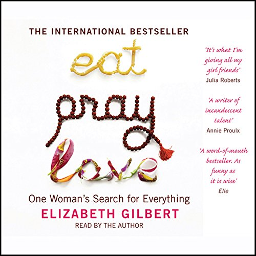 Eat, Pray, Love audiobook cover art