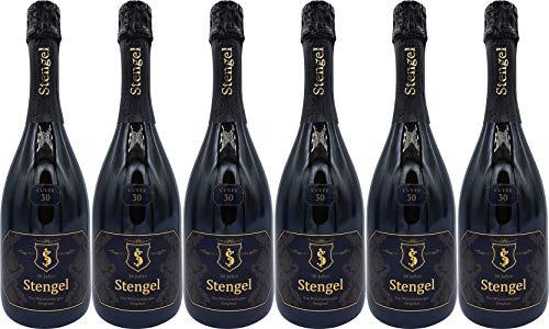 Sekt- und Weinmanufaktur Stengel Cuvée 30 Blanc de Blanc Extra Trocken (6 x 0.75 l)