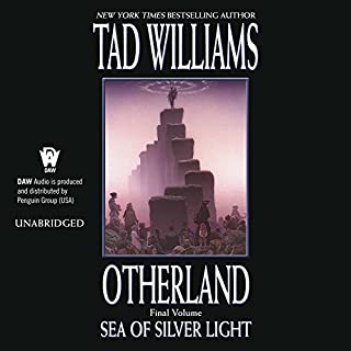 Sea of Silver Light audiobook cover art