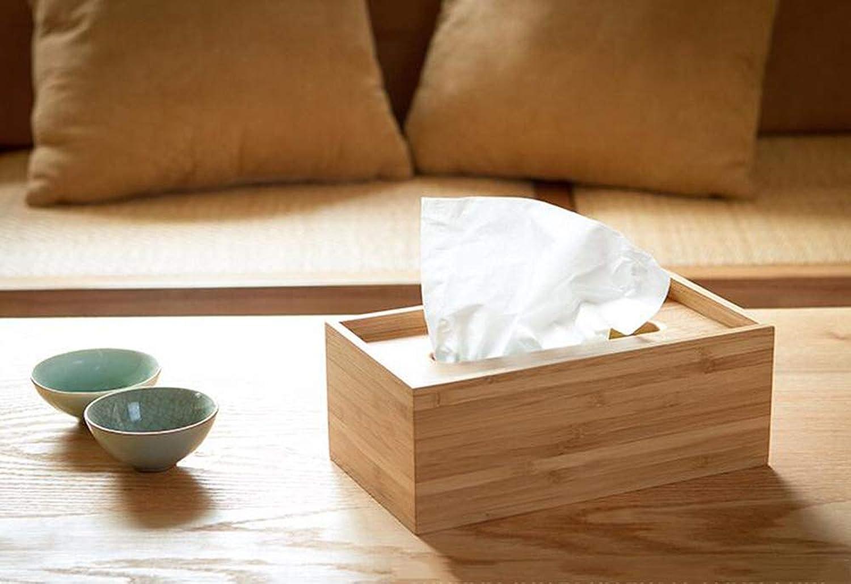 SZ JIAOJIAO Massivholzgewebebox Wohnzimmer Couchtisch Couchtisch Couchtisch natürliche Bambus-Holz-Verotelungs-Schlegelbox Decken Haushaltsschale,B B07MNVH6K8 | Clearance Sale  23ace2